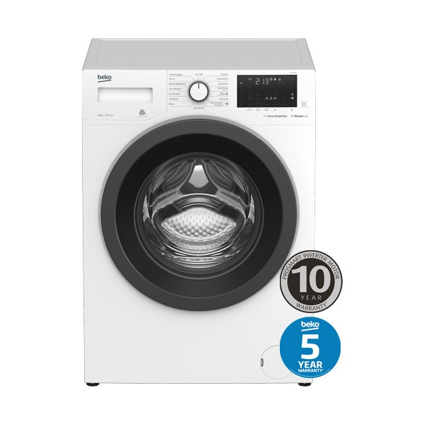 BEKO BFL1010W 10kg Front Loading Washing Machine