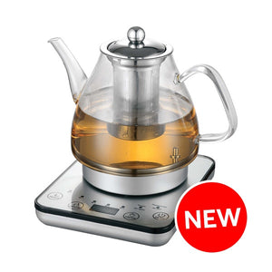 HealthyChoice 1.2L Digital Glass Kettle with Tea Infuser