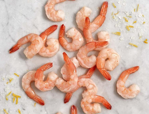 Peeled Shrimp Raw - 2 lb. bag
