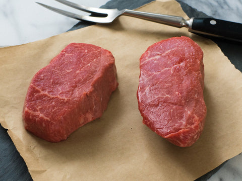 Top Sirloin Steak Filet Style - 6 oz. each