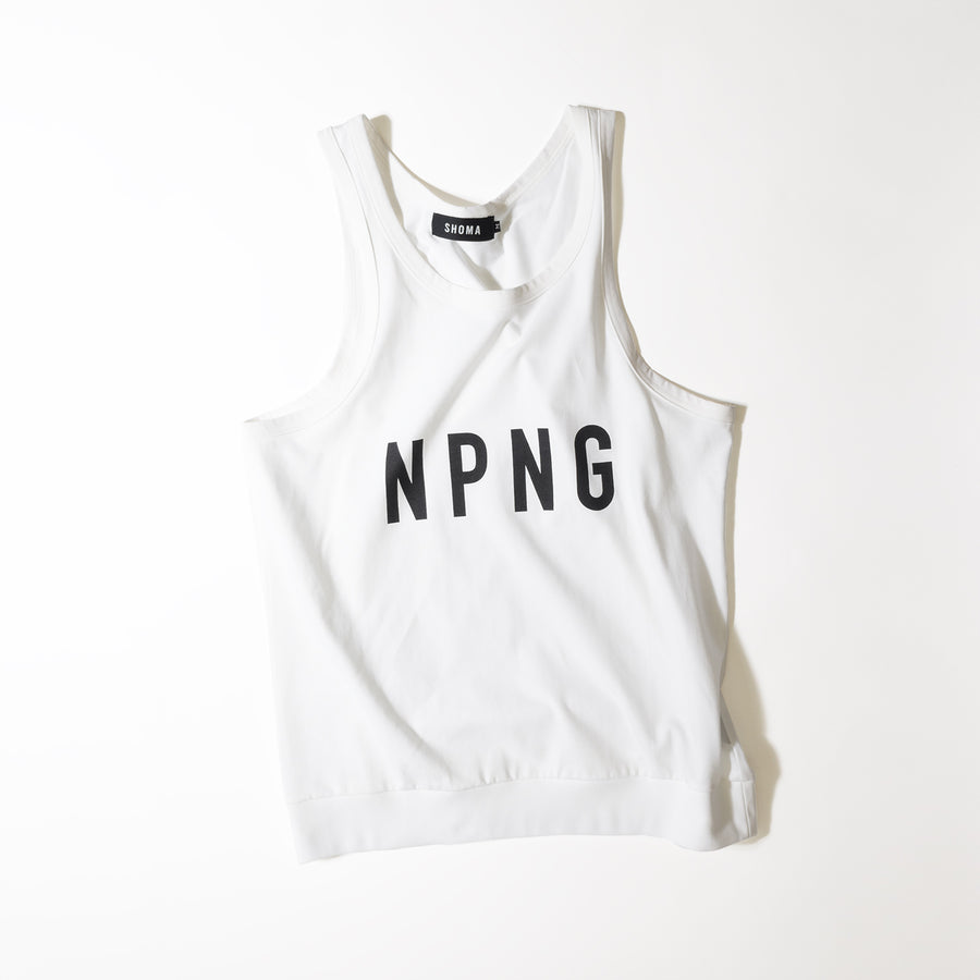 JERSEY ACTIVE TOP[NPNG]- White