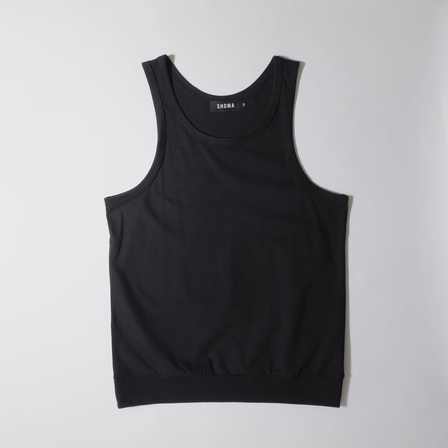 JERSEY ACTIVE TOP[Triangle of SHOMA]- Black