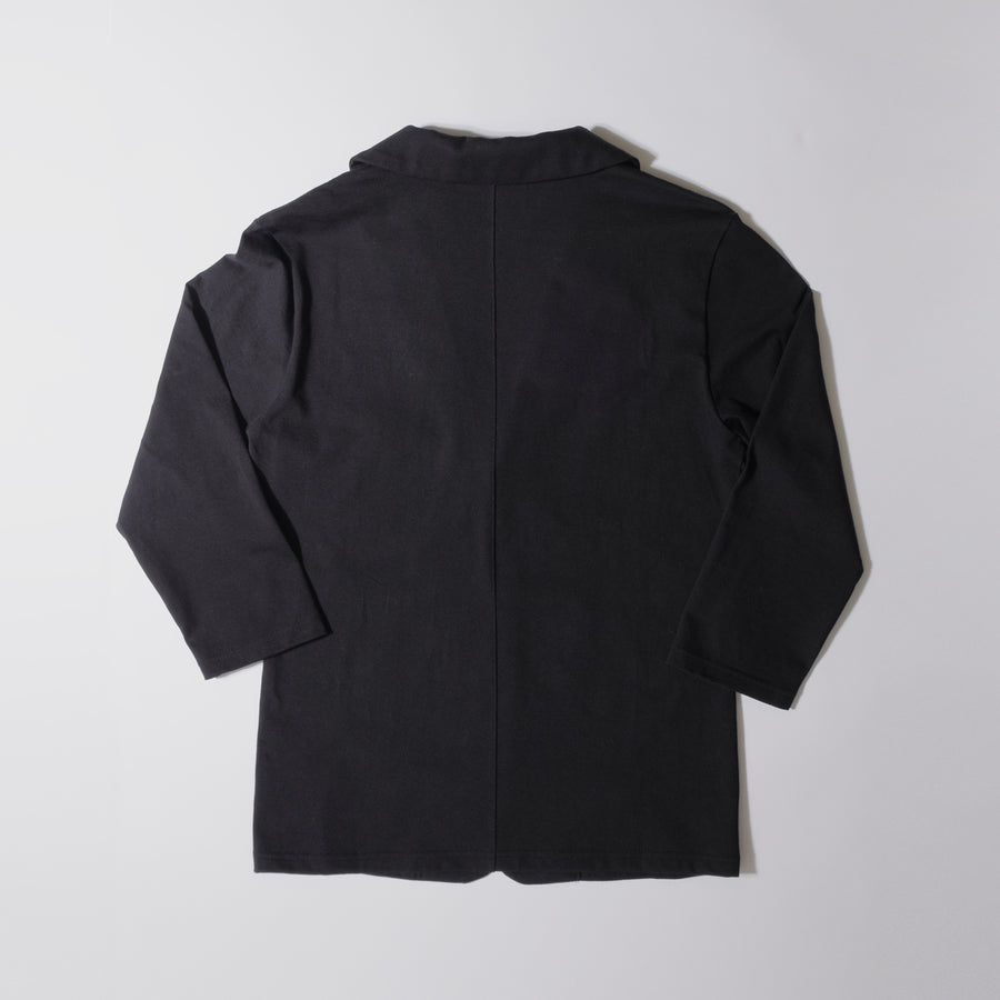 JERSEY JACKET 7[Triangle of SHOMA]- Black