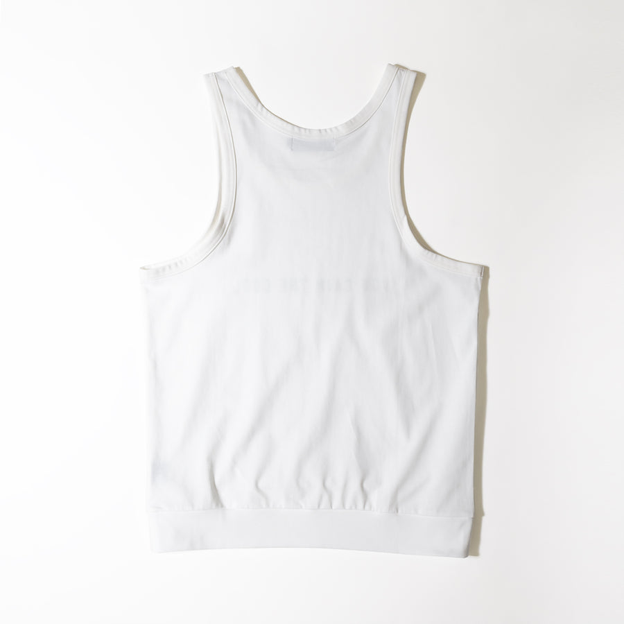 JERSEY ACTIVE TOP[YOU GAIN THE COOL]- White