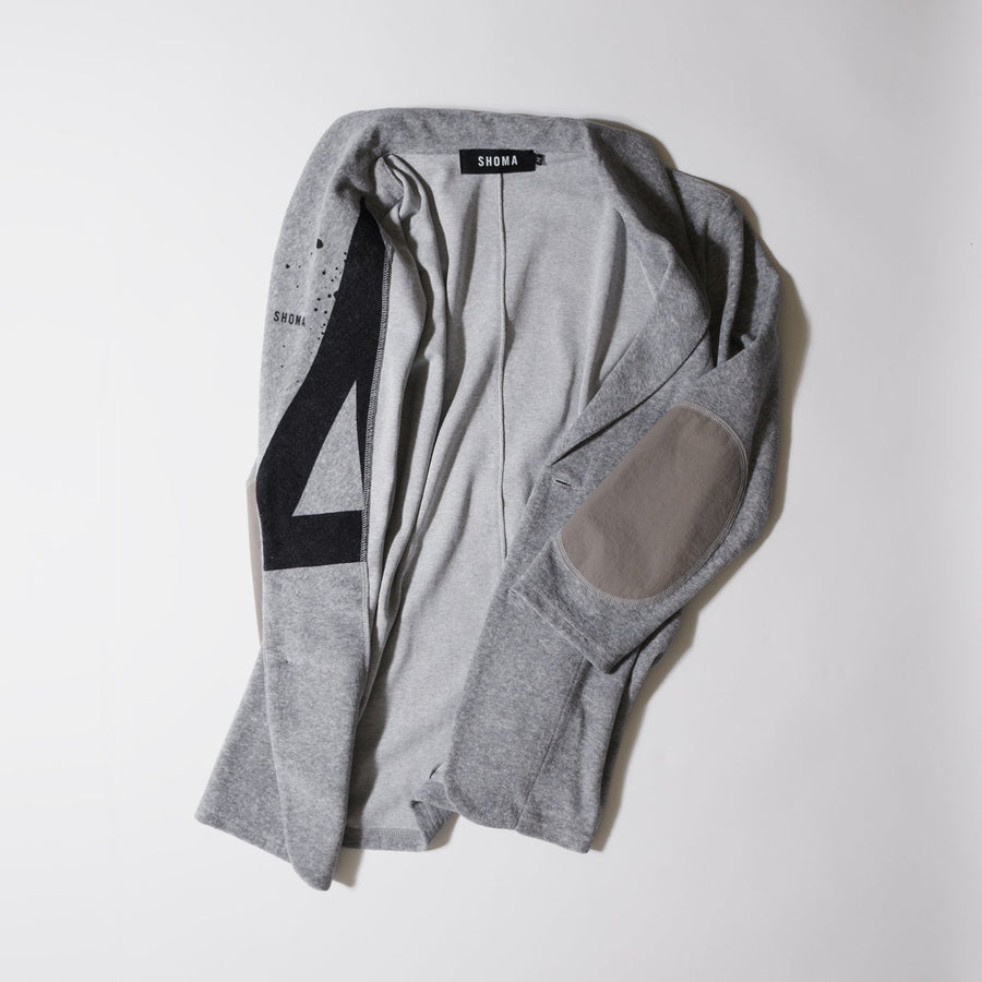 PILE JACKET 7[Triangle of SHOMA]- Light Gray