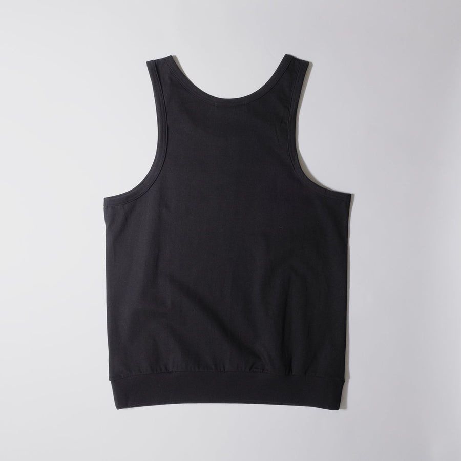 JERSEY ACTIVE TOP[YOU GAIN THE COOL]- Black