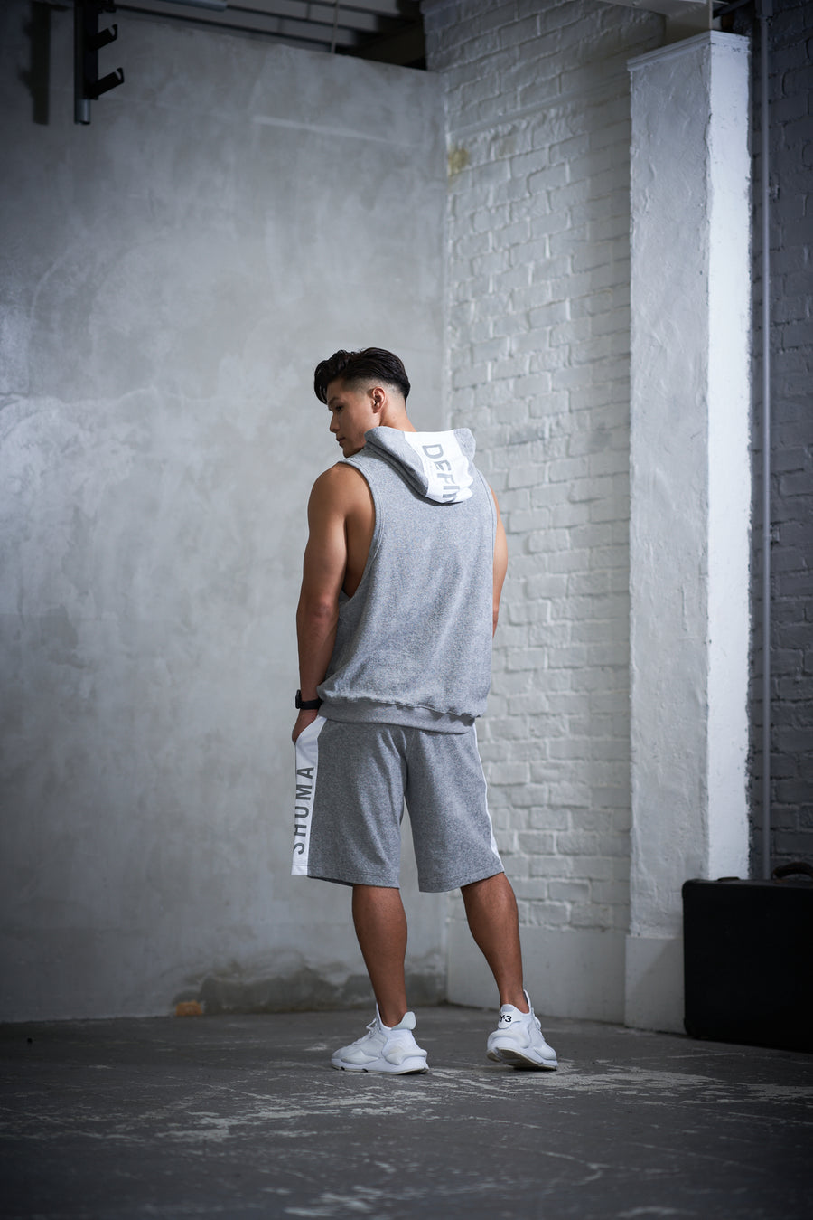 Half Line Pants [SHOMA] - Light Gray
