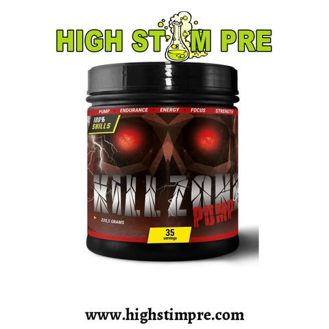100% Skills Kill Zone Pump Pre Workout