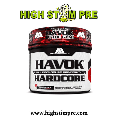 American Metabolix Havok Hardcore Pre Workout