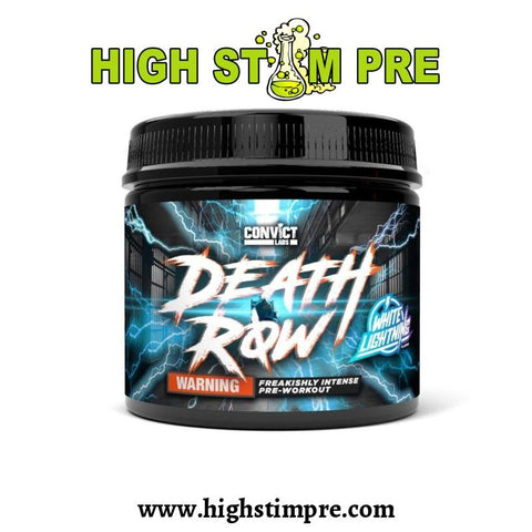 Convict Labs Death Row 30 Servings Pre Workout