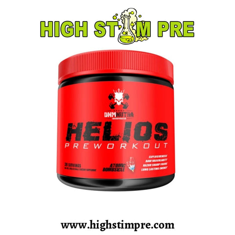 Dnm Nutra Helios Pre-Workout Pre Workout