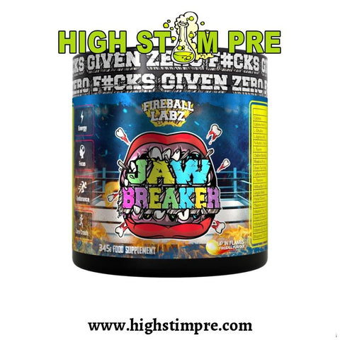 Fireball Labz Jaw Breaker Pre-Workout Pre Workout