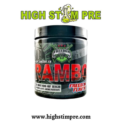 Freedom Pharma Rambo Pre Workout