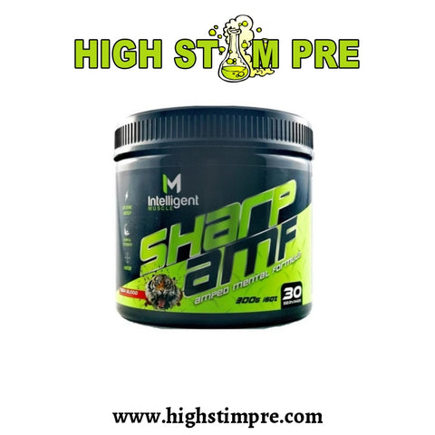 Intelligent Muscle Sharp Amf 30 Servings Pre Workout