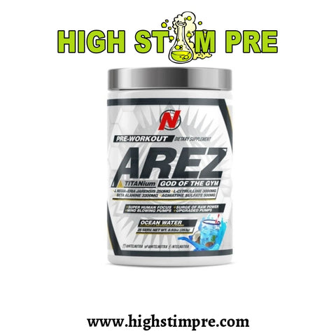 Ntel Nutra Arez Titanium 25 Servings Pre Workout