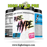 Pure Cut Supplements Hype Pre Workout