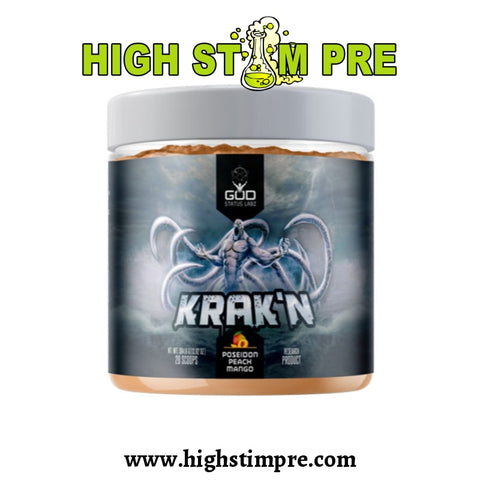 God Status Labz Krakn Pre-Workout Pre Workout