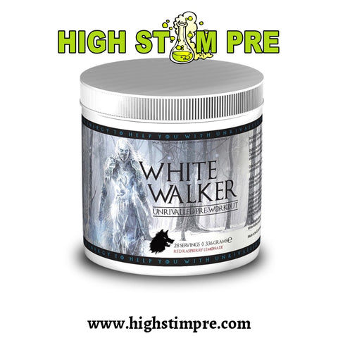 White Walker Unrivalled Pre-Workout 28 Servings Pre Workout