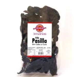 Chile Pasilla entero 100g