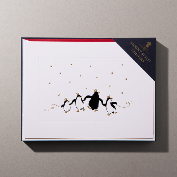 Penguin Party Christmas Cards