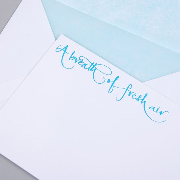 A Breath of Fresh Air Correspondence Cards