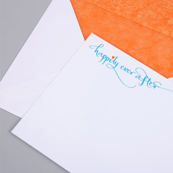 Happily Ever After Correspondence Cards