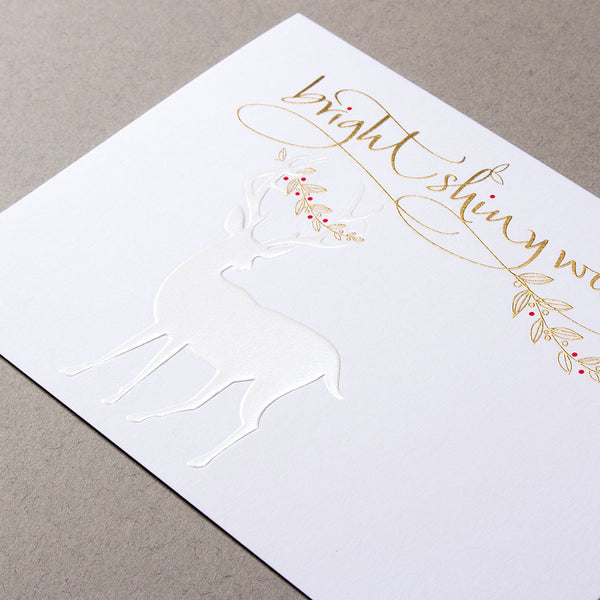 Bright Shiny Wishes Christmas Cards