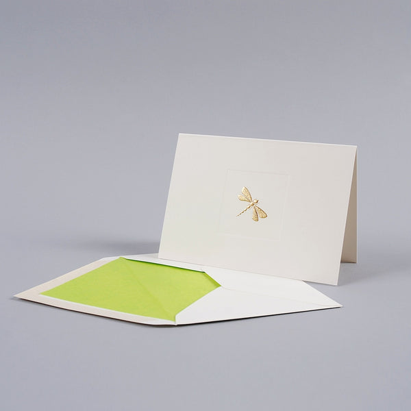 Dragonfly Folded Correspondence Cards