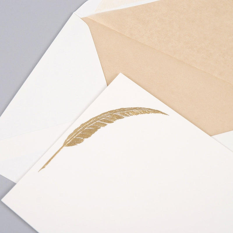 Feather Correspondence Cards