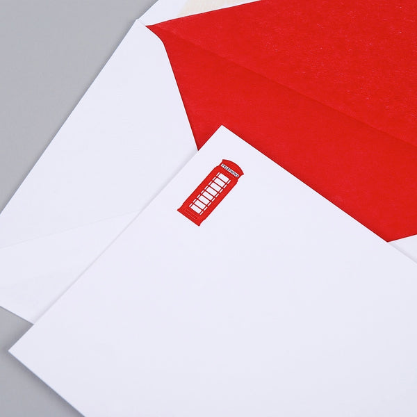 Telephone Box Correspondence Cards