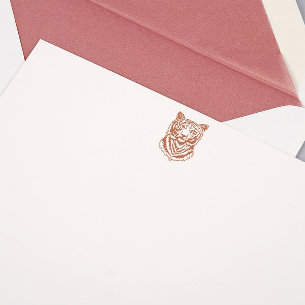 Tiger Correspondence Cards