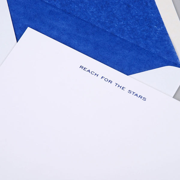 Reach for the Stars Correspondence Cards