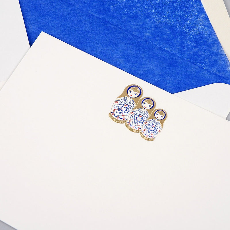 Russian Dolls Correspondence Cards