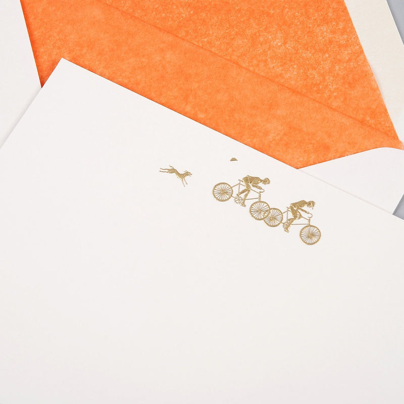 Cyclists Correspondence Cards