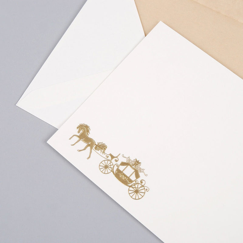 Horse & Carriage Correspondence Cards