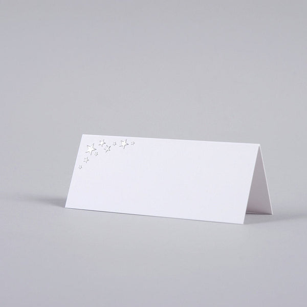 Stars Tented Place Card