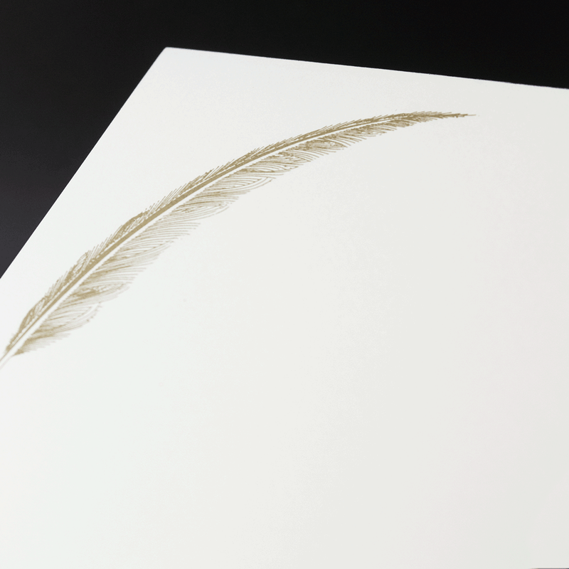 Feather Notepad
