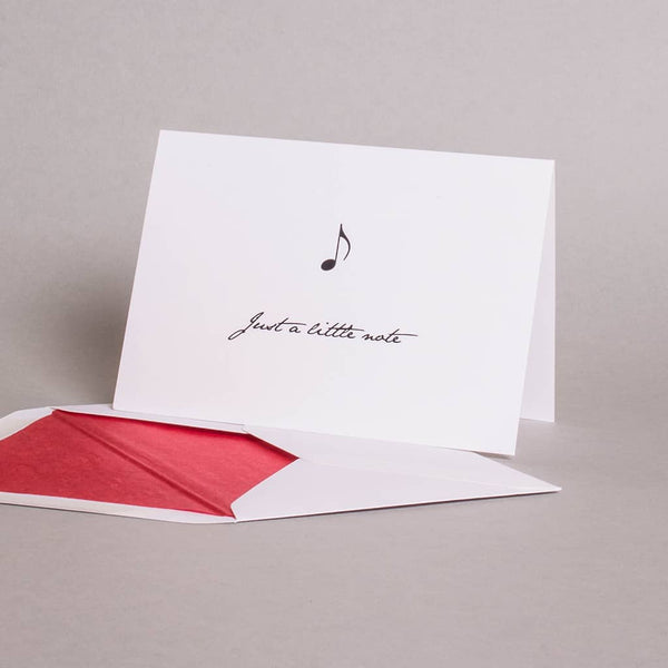 Just a little note Correspondence Cards