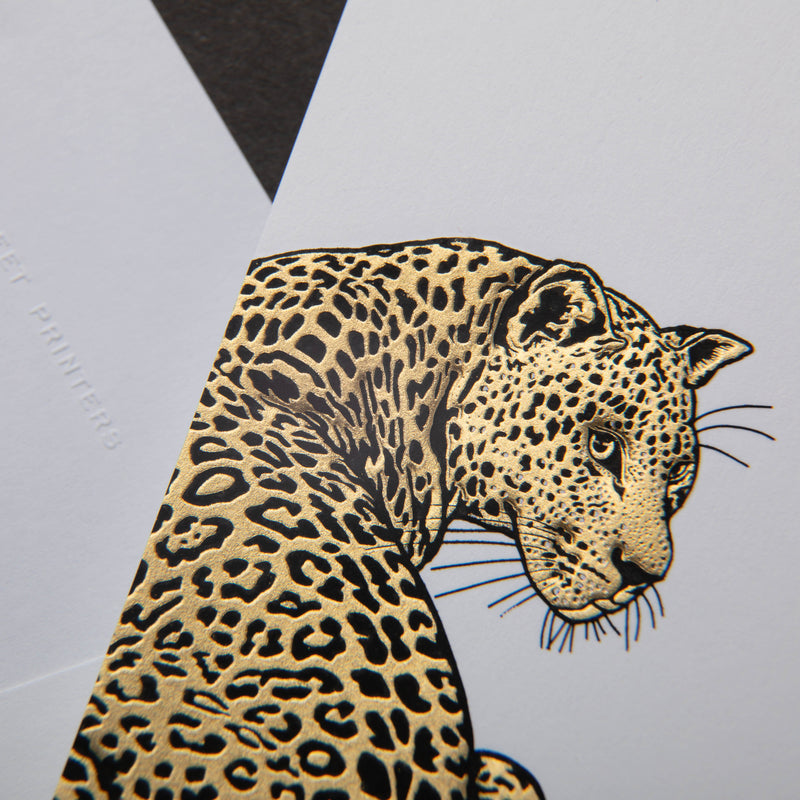 Leopard Notecards
