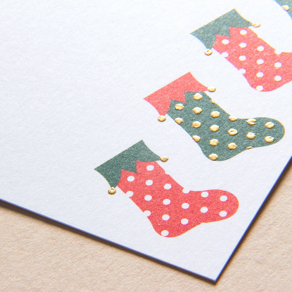 Stockings Gift Tag - Pack of 8