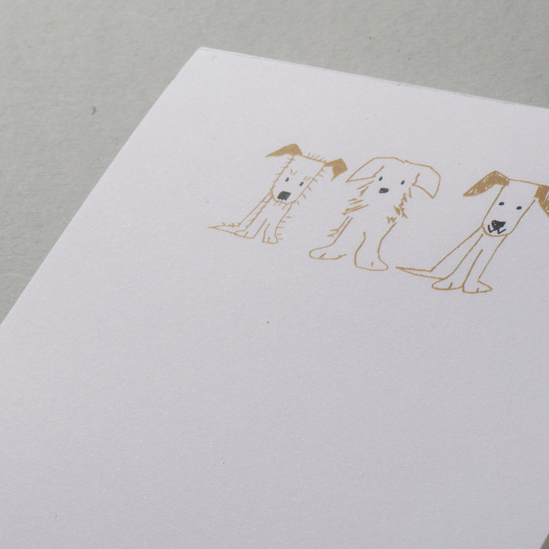 Three Puppies Notepad