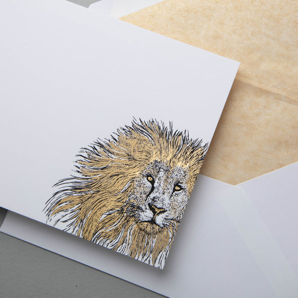 Lion Notecards