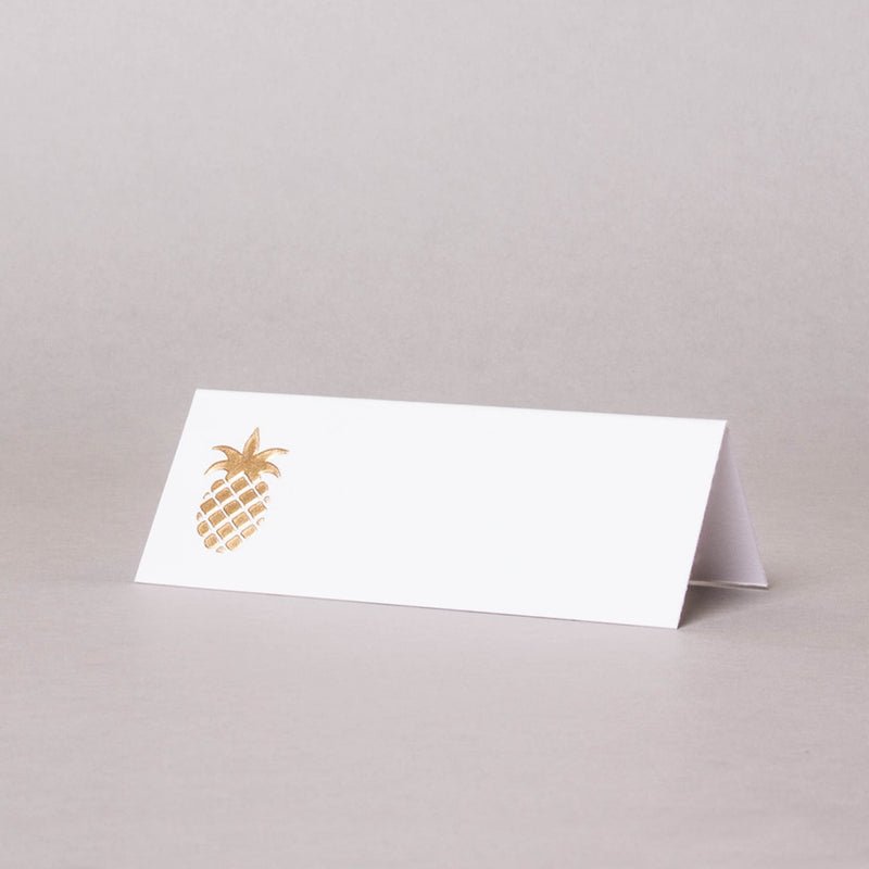 Pineapple Tented Place Card