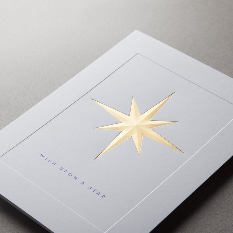 North Star Christmas Card