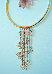 Bloom - abundant being handmade wall art, weaving home decor
