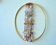 Radiant Soul - abundant being handmade wall art, weaving home decor
