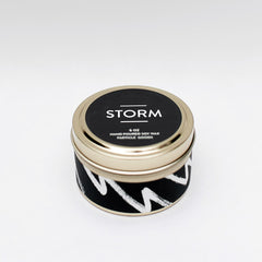 Storm Candle by Particle Goods - soy wax candle with notes of sea salt, rain, cypress, moss, lightning, musk, eucalyptus