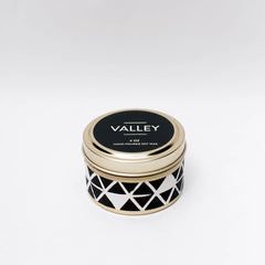 Valley Candle by Particle Goods - soy wax candle with notes of lemon zest, wild poppy, sunrise, magnolia flower, yuzu citrus - Foamy Wader