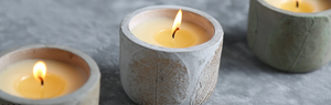 Hand-poured candles from St Eval