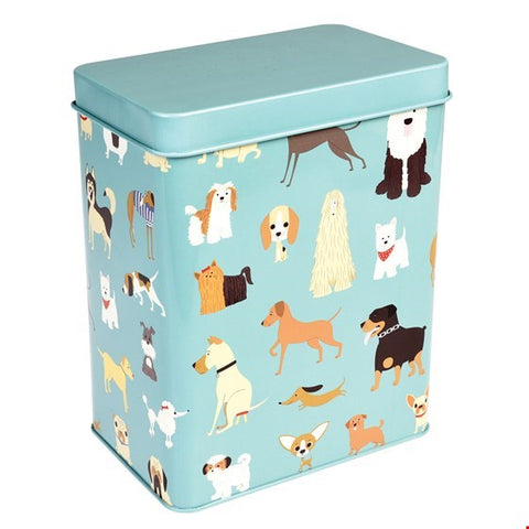 Doggy treat tin